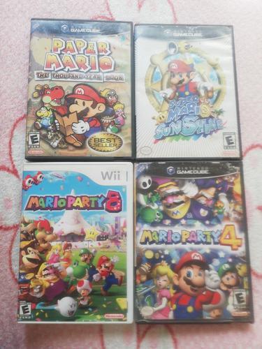 Juegos De Mario Gamecube Wii Precio Por Cada Uno