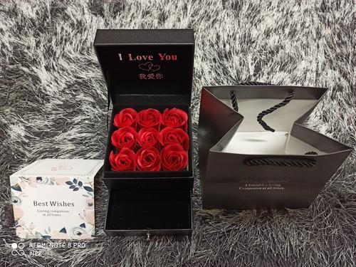 San valentin regalo rosas de jabon arreglo novia amiga mama