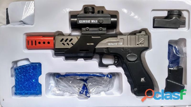 Pistola Electrica Esferas De Hidrogel 1