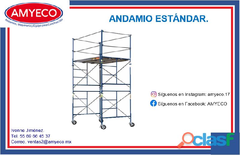 ANDAMIO DE TRABAJO ESTANDAR