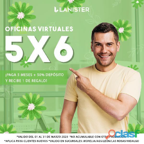 OFICINAS VIRTUALES CON LA MEJOR UBICACIÓN DESDE $750.00 3