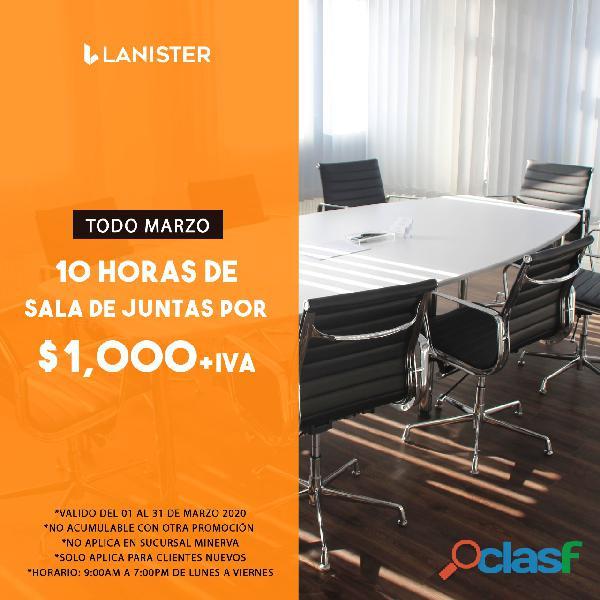 OFICINAS VIRTUALES CON LA MEJOR UBICACIÓN DESDE $750.00 1
