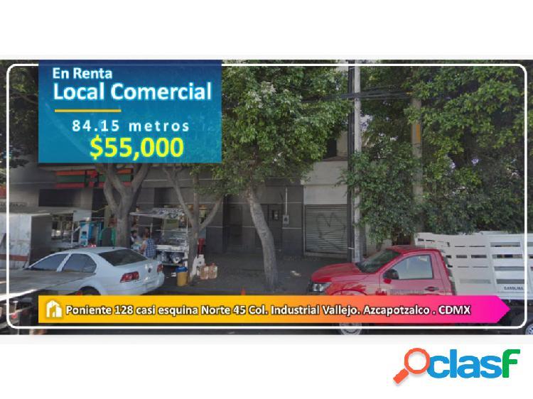Local en renta en azcapotzalco, cdmx