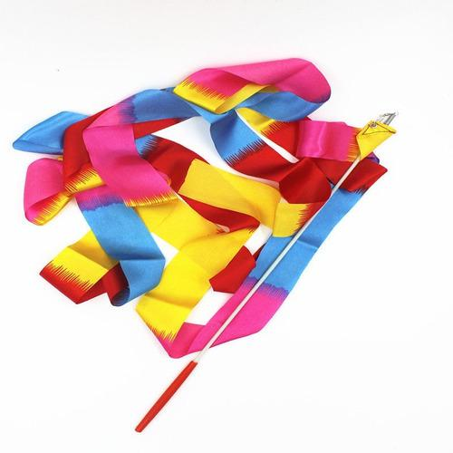 Cinta (listón) Gimnasia Rítmica Danza Colored Modelo Nuevo