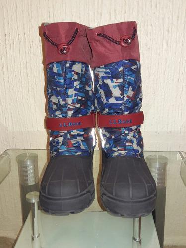 Botas para nieve,frio o lluvia l.l bean talla 23.5cm