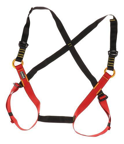 Niños escalada arneses cuerpo completo cinturones seguridad