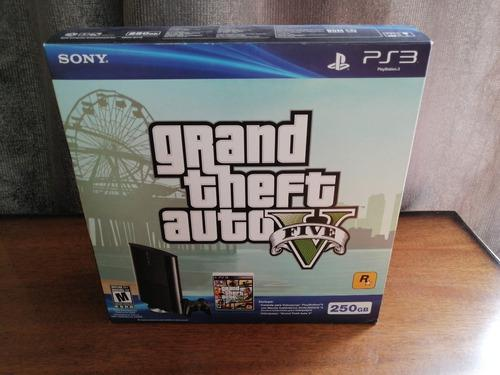 Playstation 3 grand theft auto v bundle control juego manual