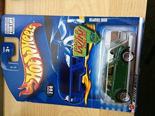2002-200 Mini Cooper Mattel Hot Wheels 1:64 Scale Collecti