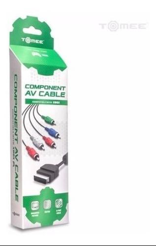 Cable componente xbox 1era generacion av audio video hd