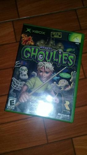 Grabbed by the ghoulies xbox clasico