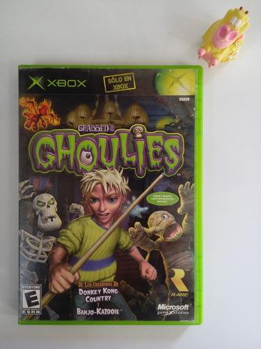 Grabbed by the ghoulies xbox clásico * mundo abierto vg *