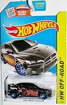 Hot Wheels, 2015 Hw Off-road 2008 Mitsubishi Lancer Evolut