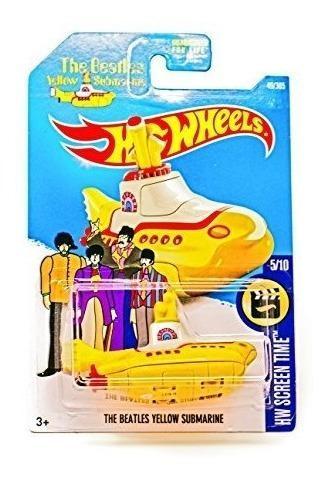 Hot Wheels, 2017 Hw Screen Time, Los Beatles Yellow Submari