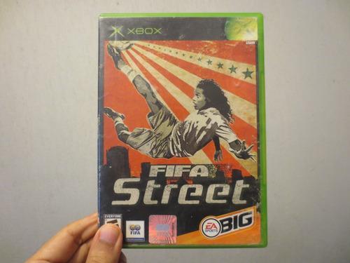 Juego fifa street xbox clásico usado completo funcionando