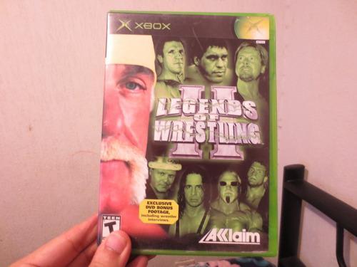 Juego legends of wrestling ii xbox clásico completo
