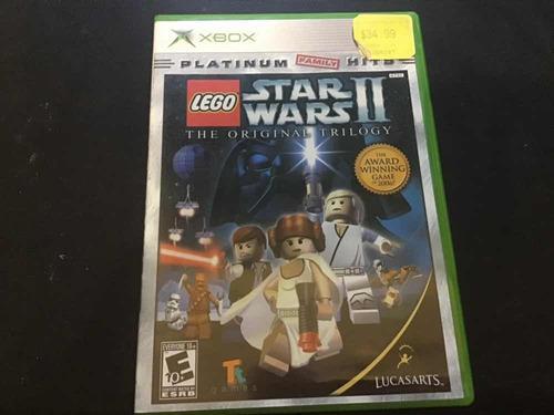Lego star wars 2 the original trilogy xbox clásico