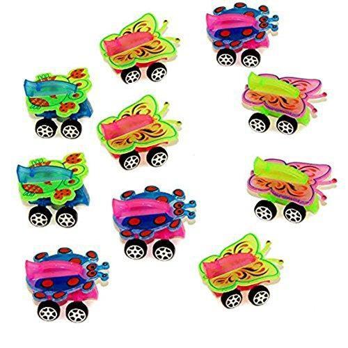 Mini animal toy cars - 24 pack surtido de coches en miniatu