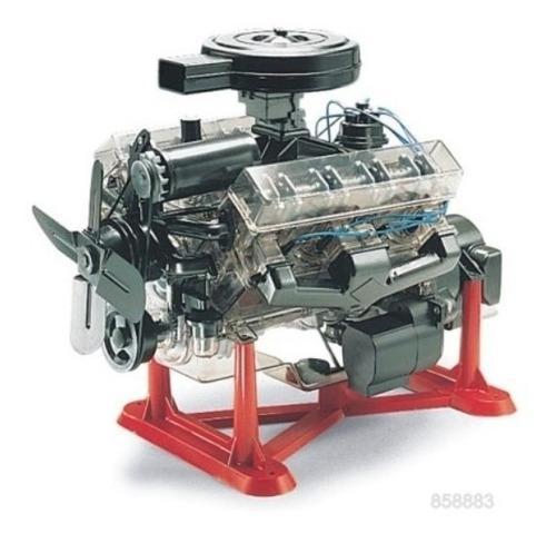 Motor v8 revell escala 1/4 para armar plástico