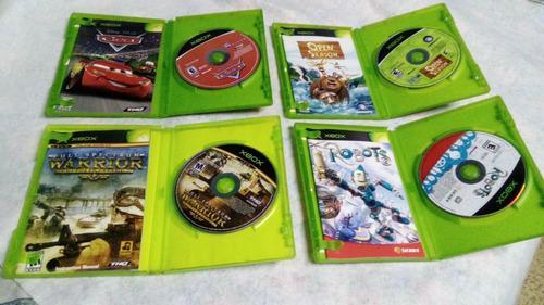 Remato 4 videojuegos de xbox clasico, de coleccion original