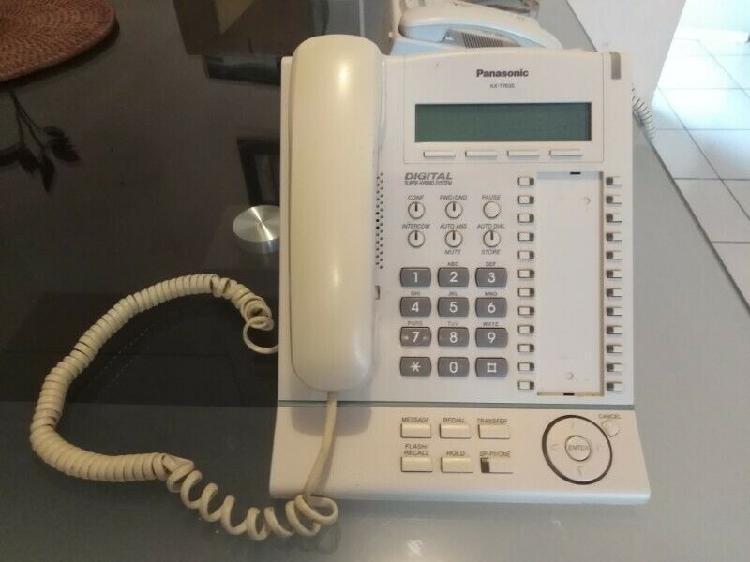 Telefono digital panasonic kx-t7630
