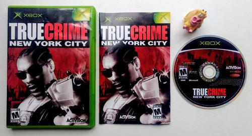 True crime new york city xbox clásico * mundo abierto vg *