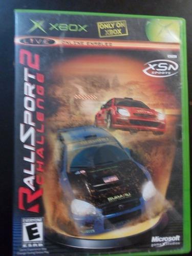 Video juego xbox clasico ralli sport 2 challenge funcionando