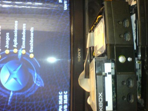 Xbox clasico refacciones tarjeta madre y disco duro