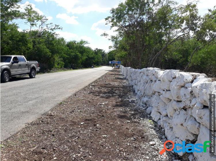 Terreno en venta de 5 hectareas suytunchen - komchem merida