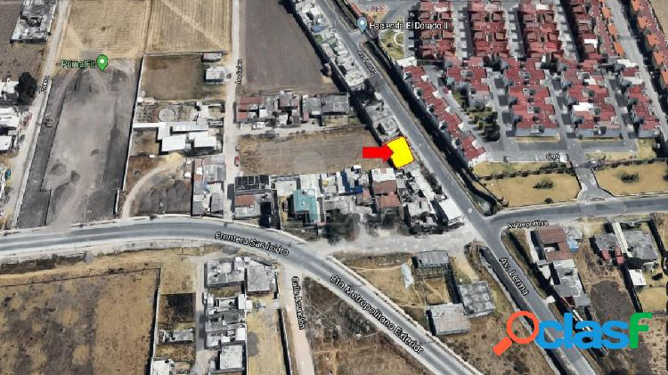 Terreno comercial en Venta sobre Blvd. Sor Juana Ines de la Cruz, Metepec-San Mateo