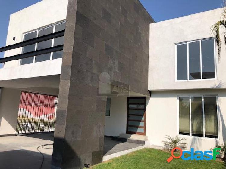 Casa nueva en venta en santa cruz otzacatipan