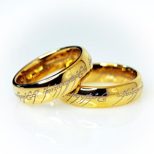 Anillo señor de los anillos réplica increíble de
