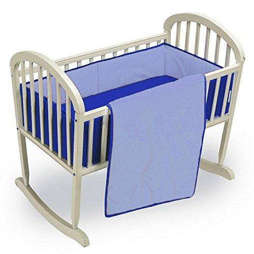 Babykidsbargains juego de cama de cuna reversible light roy
