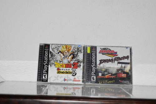 Lote ps one 4 juegos dragon ball z fighting force 2 f1 99