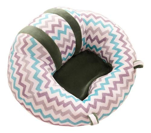 Suave bebé apoyo asiento de felpa sofá colorido suave