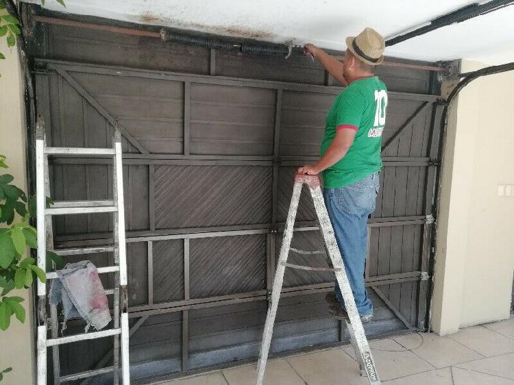 Aluminio reparacion de cortinas de garage 2291175305
