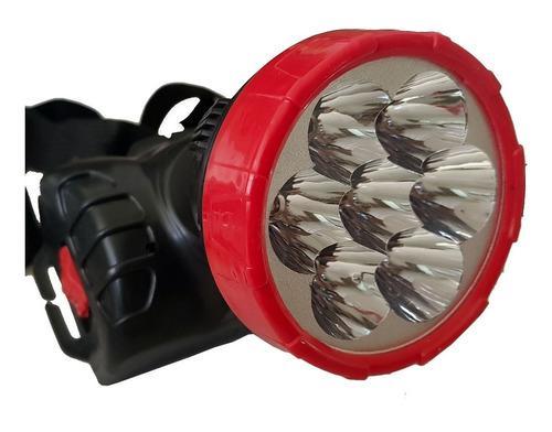 Lampara linterna tactica led minera cabeza recargable /e