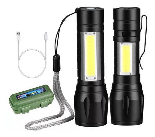 Mini lámpara pro usb 4000 lumens recargable publicitario