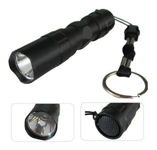 Mini lámpara táctica led 160 lumen, sumergible!!!!