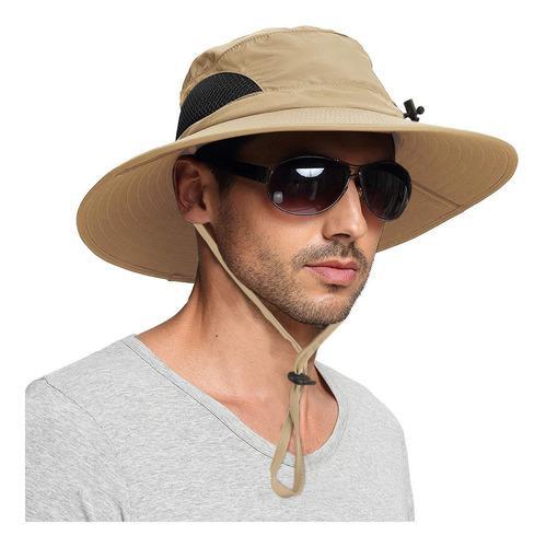 Sombrero de pescador respirable, caqui