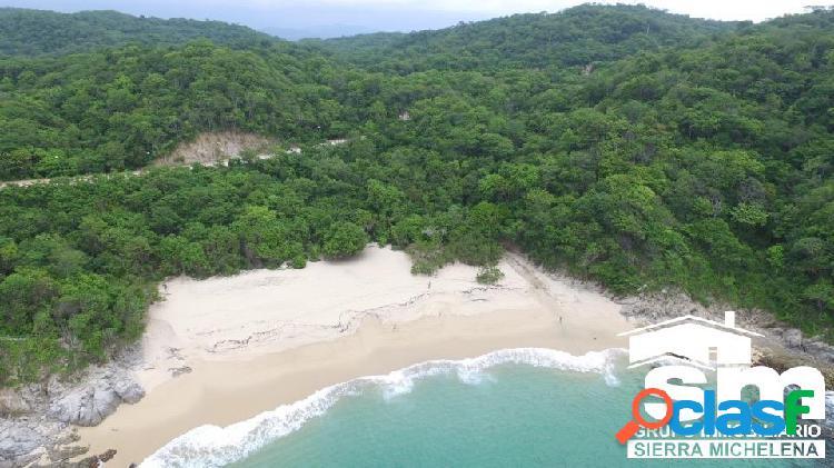 Lote en venta en playa tejón, huatulco (oax-141)