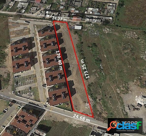 Terreno de 3726 m2 en venta en cuautlancingo puebla