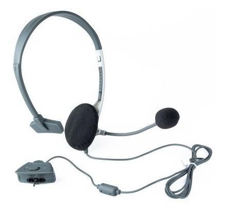 Audífono diadema 1 auricular para xbox 360:: virtual zone
