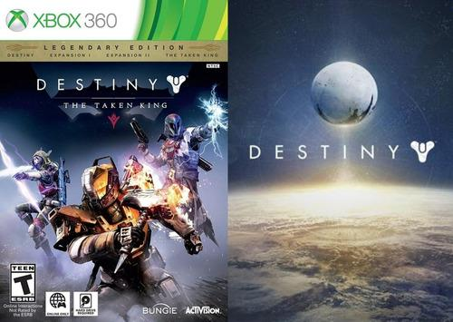 Destiny legendary the taken king xbox 360 licencias