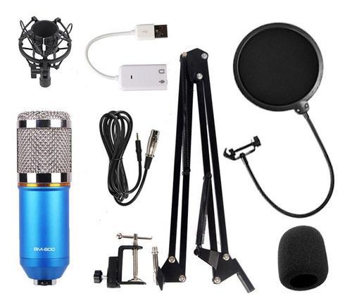 Kit microfono profesional condensador grabación estudio ktv