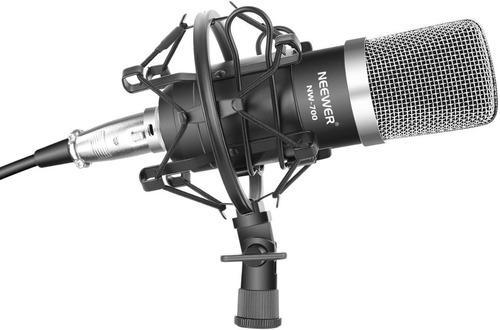 Micrófono condensador neewer nw700 incluye espuma y soporte