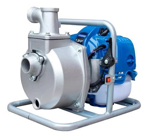 Motobomba bomba de agua a gasolina hyundai 1.5x1.5 pulg 2 hp