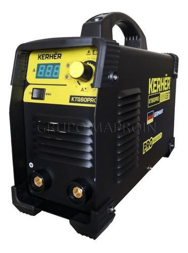 Soldadora inversora kherher kti160 pro mma y tig + oferta !!