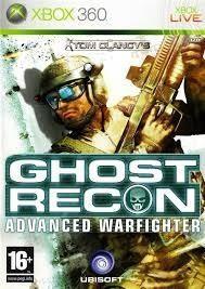 Tom clancy's ghost recon advance warfighter xbox 360
