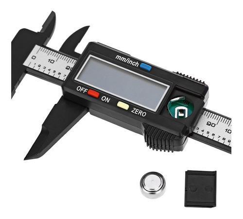 Vernier digital alta precisión 150 mm / 6 pulgadas