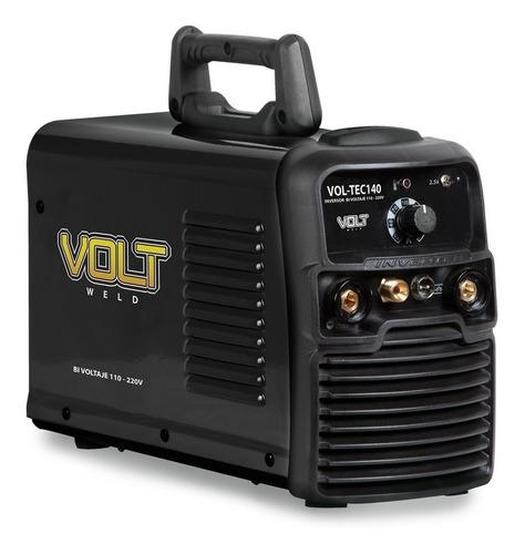 Vol-tec140 Soldadora Inversor 110/220v Plasma Ele Y Tig Volt